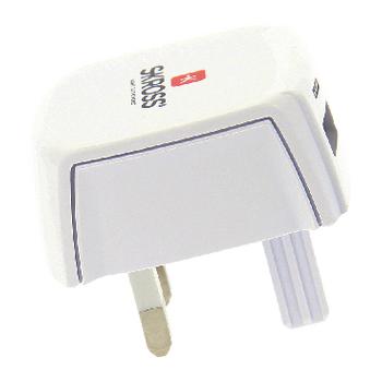 SKR1302700 Reisadapter uk usb ongeaard Product foto