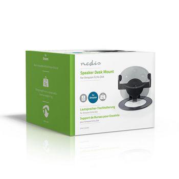 SPMT3350BK Speakerbeugel | amazon echo dot | bureau | 1 kg | vast | zwart Verpakking foto