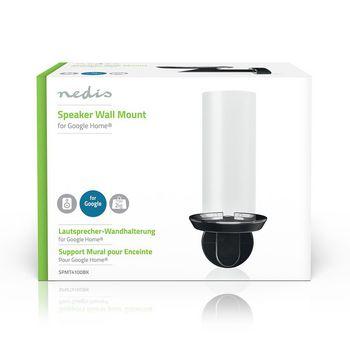SPMT4100BK Speakerbeugel | google home® | wand | 2 kg | vast | zwart  foto