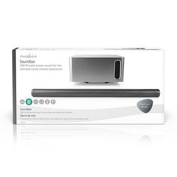 SPSB420BK Soundbar | 390 w | 2.1 | bluetooth® | subwoofer | afstandsbediening | muurbeugel  foto