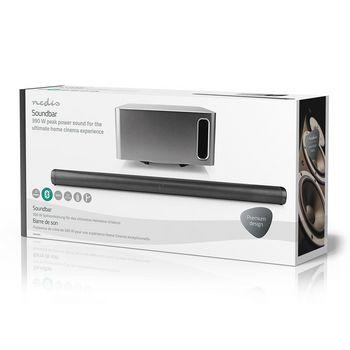 SPSB420BK Soundbar | 390 w | 2.1 | bluetooth® | subwoofer | afstandsbediening | muurbeugel Verpakking foto