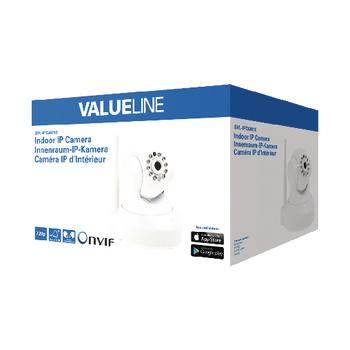 SVL-IPCAM10 Hd pan-tilt ip-camera binnen 720p wit Verpakking foto