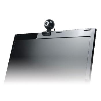 WC035V2 Webcam usb 0.3 mpixel sd kunststof zwart/zilver