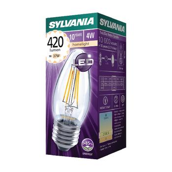 SYL-0027284 Led vintage filamentlamp kaars 4 w 420 lm 2700 k Verpakking foto