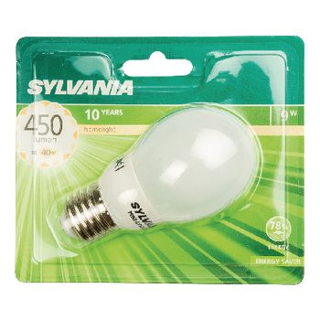 SYL-0035405 Fluorescentielamp e27 bol 9 w 450 lm 2700 k Verpakking foto
