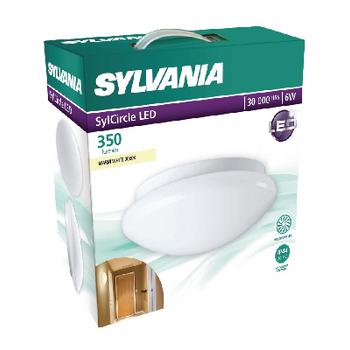 SYL-0043280 Led plafond lamp 6 w 3000 k 350 lm wit Verpakking foto