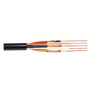 TASR-C125 Din audiokabel op haspel 3x 16/0.10 + 2x 16/0.10 - 100 m zwart