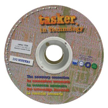 TASR-C226 Composiet kabel op haspel 10/0.10 + 2x 16.020 - 100 m zwart Verpakking foto