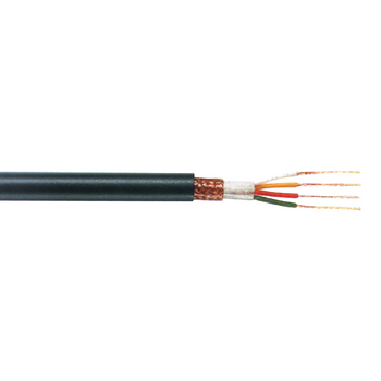 TASR-C257 Microfoonkabel op haspel 4x 0.22 - 100 m zwart