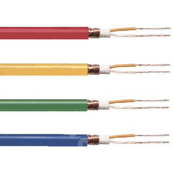 TASR-C260-YLW Microfoonkabel op haspel 2x 0.25 mm² 100 m geel