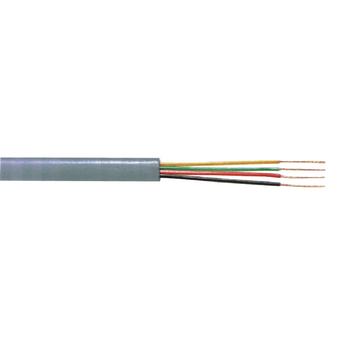 TASR-C604-GREY Telecomkabel op haspel 4x 7/0.12 - 100 m grijs