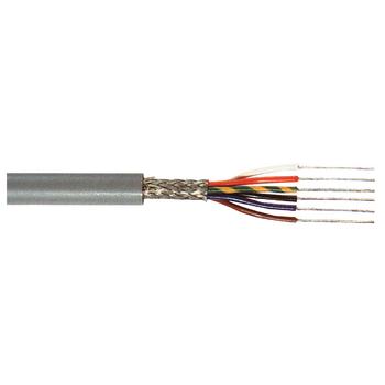 TASR-C8015 Datakabel op haspel 8x 0.15 - 100 m grijs