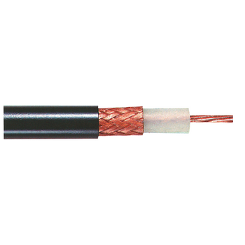 TASR-RG213U Coaxkabel op haspel rg213 10.4 mm 100 m zwart