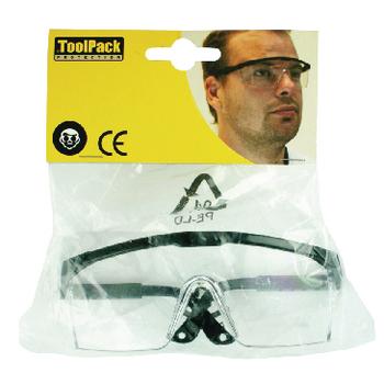 TL-PROT08 Ergonomische beschermbril Verpakking foto