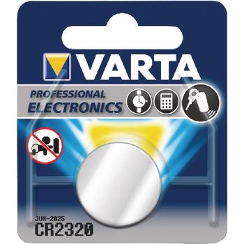 VARTA-CR2320 Lithium knoopcel batterij cr2320 3 v 1-blister Verpakking foto