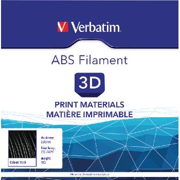 VB-55018 Filament abs 2.85 mm 1 kg zwart Verpakking foto