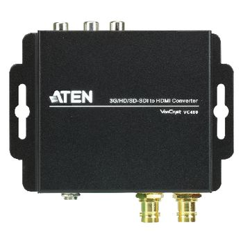 VC480-AT-G Hdmi-converter 1x sdi - hdmi-uitgang / 2x rca female / 1x coax audio / 1x sdi