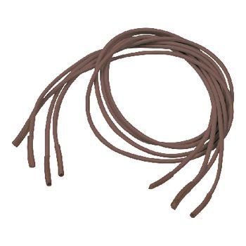 VIT-70110030 Schoenveters elastisch 60 cm bruin