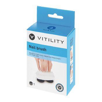 VIT-70110140 Stevig hulpmiddel lichaamsverzorging - nagelborstel Verpakking foto