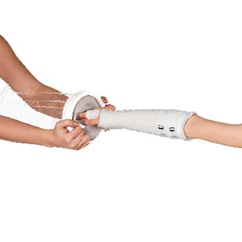 VIT-70110350 Douchehoes - kinderarm In gebruik foto
