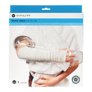 VIT-70110350 Douchehoes - kinderarm Verpakking foto