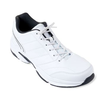 VIT-70110420 Schoenveters elastisch 76 cm wit
