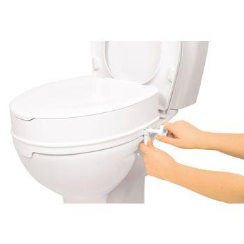 VIT-70110530 Toilethulp - stoelverhoger 10 cm wit In gebruik foto