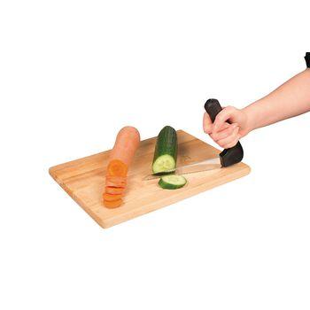 VIT-70210120 Ergonomisch groenten mes In gebruik foto
