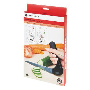 VIT-70210120 Ergonomisch groenten mes Verpakking foto