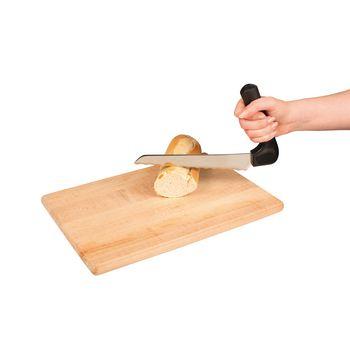 VIT-70210130 Ergonomisch brood mes In gebruik foto