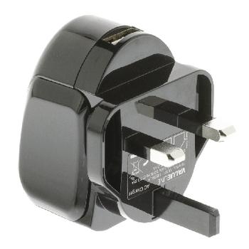 VLMP11955BUK Lader usb 1-uitgang 2.4 a 2.4 a usb zwart Product foto