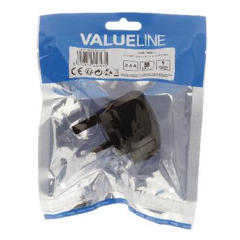 VLMP11955BUK Lader usb 1-uitgang 2.4 a 2.4 a usb zwart Verpakking foto