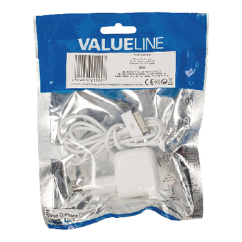 VLMP39892W10 Lader 2.1 a 2.1 a apple 30-pins wit Verpakking foto
