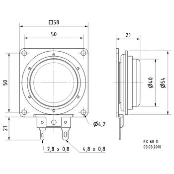 VS-EX60S Electro dynamische exciter 25 w In gebruik foto