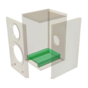 VS-LSK5917 Shelf-mounted speaker bijou In gebruik foto