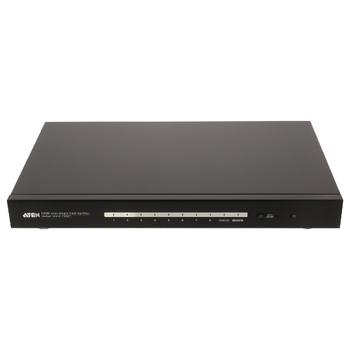 VS1818T-AT-G 8-poorts hdbaset hdmi-splitter zwart Product foto