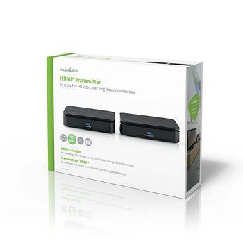 VTRA3405BK Draadloze hdmi™-zender | 1080p | 2,4 ghz | 40.0 m Verpakking foto