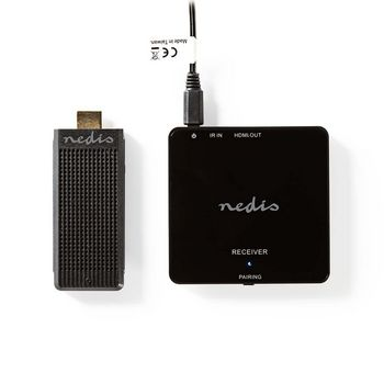 VTRA3411BK Draadloze hdmi-zender | 1080p | 5 ghz | 30 m | draagbare dongle Product foto