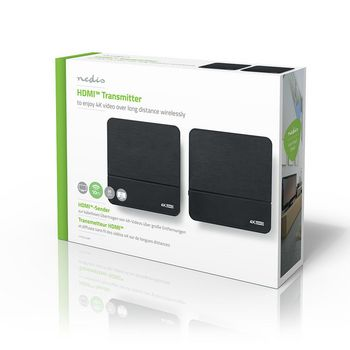 VTRA3440BK Draadloze hdmi™-zender | 4k | 60 ghz | 10.0 m Verpakking foto