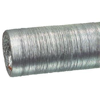 W3-65090 Afvoerslang aluminium 152 mm 10.0 m Product foto
