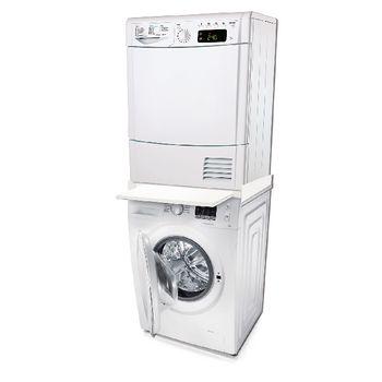 W9-20528-4 Stapelset wasmachine / wasdroger 60.7 cm In gebruik foto