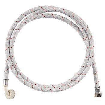 W9-IHN2-15N Toevoerslang nylon 3/4\'\' recht - 3/4\'\' gehoekt 10 bar 90 °c 1.50 m