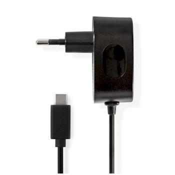 WCHAC300ABK Oplader | snellaad functie | 1x 3,0 a | outputs: 1 | usb-c kabel | 1.50 m | 15 w | enkele voltage se
