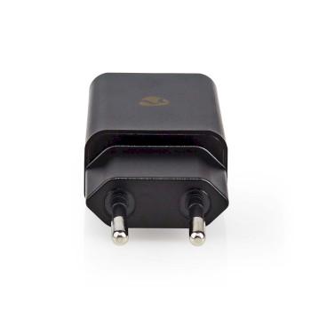 WCHAL242ABK Oplader | 1x 2,4 a | outputs: 1 | usb-a | lightning 8-pins (los) kabel | 1.00 m | 12 w | enkele volt Product foto