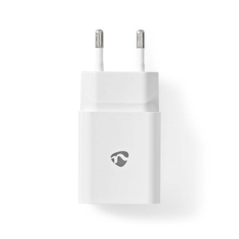 WCHAL242AWT Oplader | 1x 2,4 a | outputs: 1 | poorttype: usb-a | lightning 8-pins (los) kabel | 1.00 m | 12 w |  Product foto