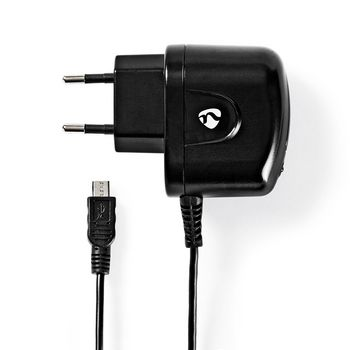 WCHAM100ABK Oplader | 1x 1,0 a | outputs: 1 | micro-usb | 1.00 m | 5 w | enkele voltage selectie Product foto