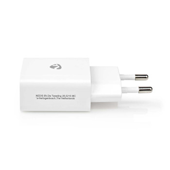WCHAU212AWT Oplader | 1x 2,1 a | outputs: 1 | usb-a | geen kabel inbegrepen | 10.50 w | enkele voltage selectie Product foto
