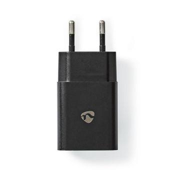 WCHAU242ABK Oplader   1x 2,4 a   outputs: 1   poorttype: usb-a   geen kabel inbegrepen   12 w   enkele voltage s Product foto