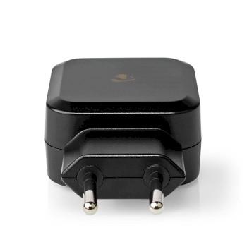 WCHAU484ABK Oplader | snellaad functie | 2x 2,4 a | outputs: 2 | 2x usb-a | geen kabel inbegrepen | 24 w | enkel Product foto