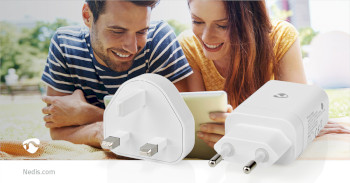 WCPD18WU102WT Oplader | pd3.0 18w | 1,5 a / 2 a / 3,0 a | outputs: 1 | usb-c™ | 18 w | automatische voltage  Product foto